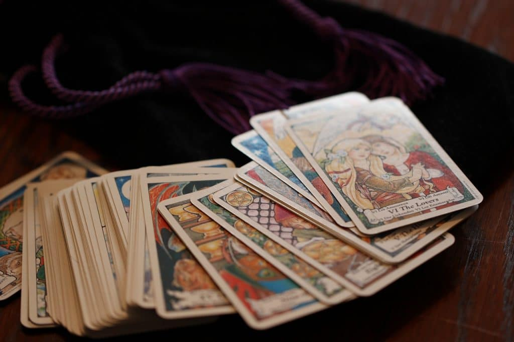 tarot cards new age divination