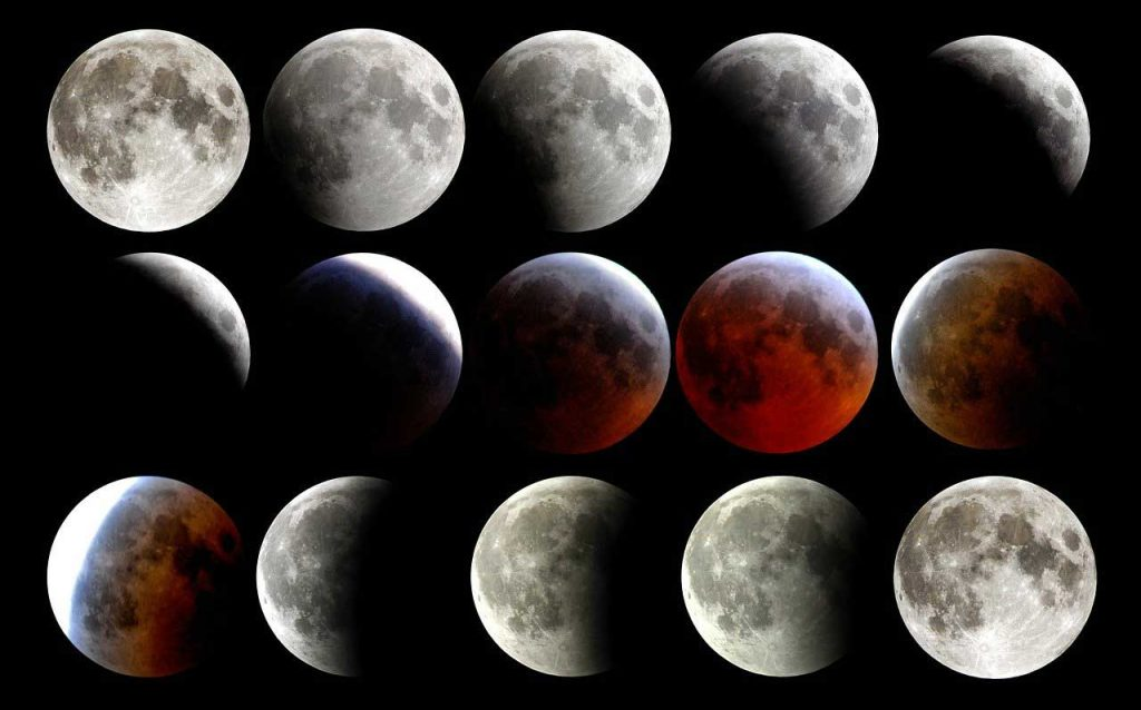 8 moon phases, moon phases, phases of the moon, full moon, new moon, crescent moon