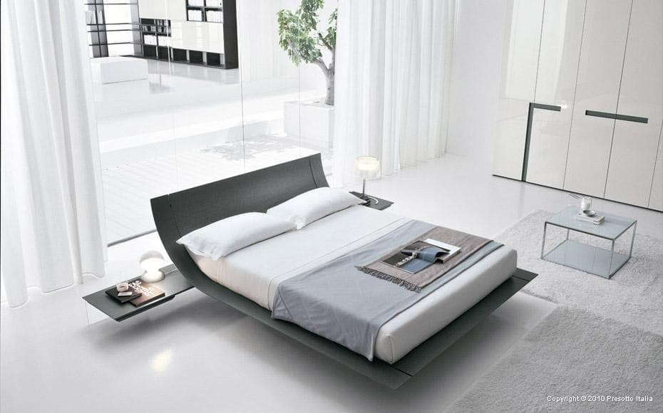 allow space between your wall and bed
