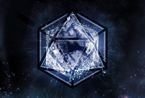 icosahedron, sacred geometry shapes