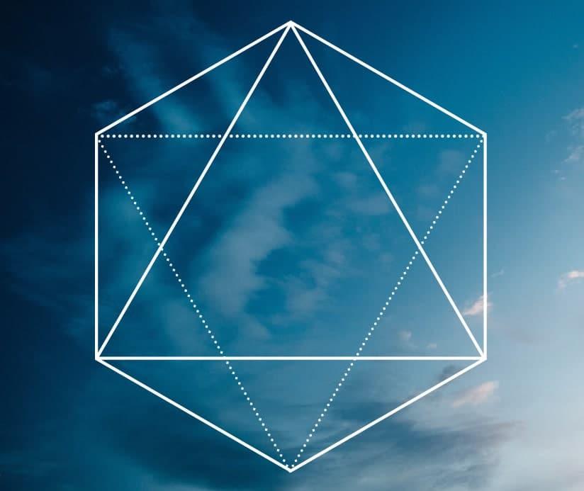 octahedron, sacred geometry, sacred shape