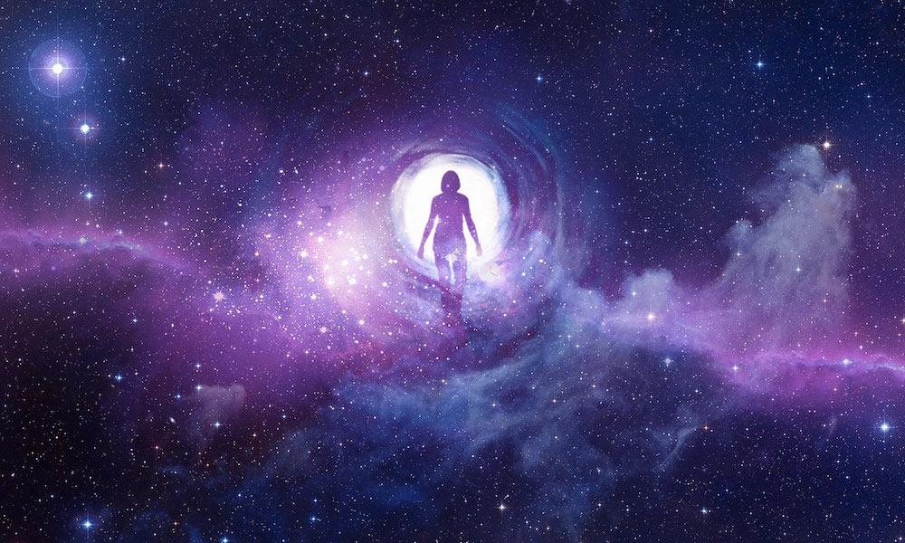 A man stand as a spirit, Spiritual Mediums