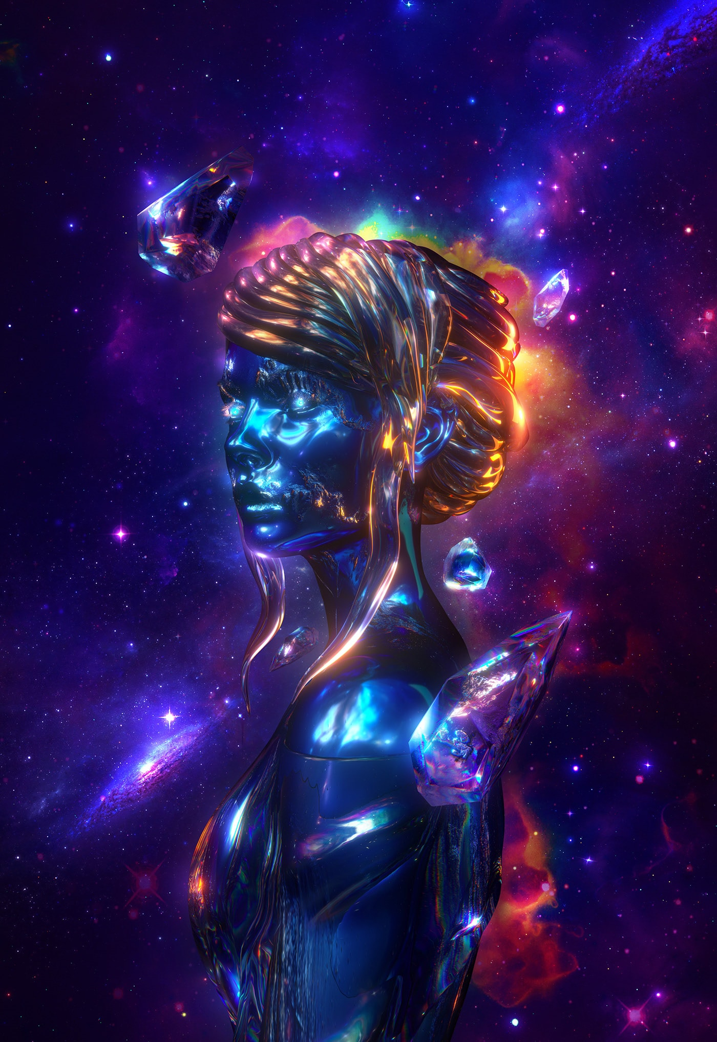 astrology houses, cosmos, cosmos lady