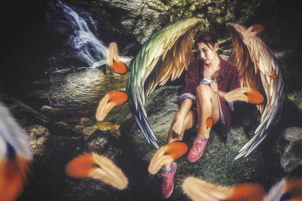 creative earth angel