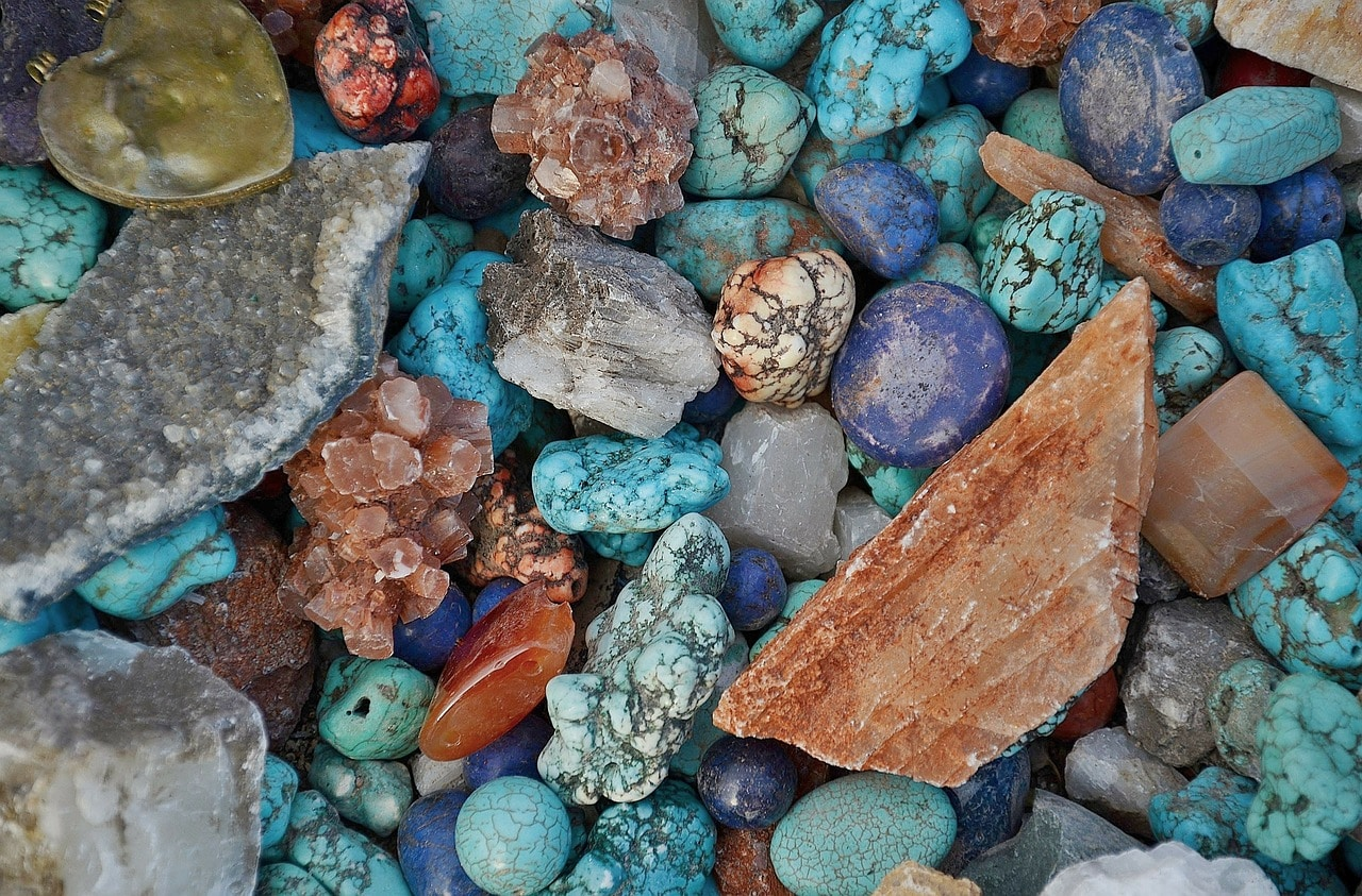 Rock are different color and see the beautiful of rock