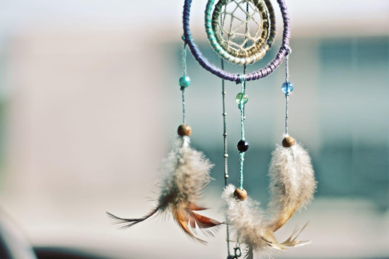 A beautiful of dream catcher and form of Archetypes
