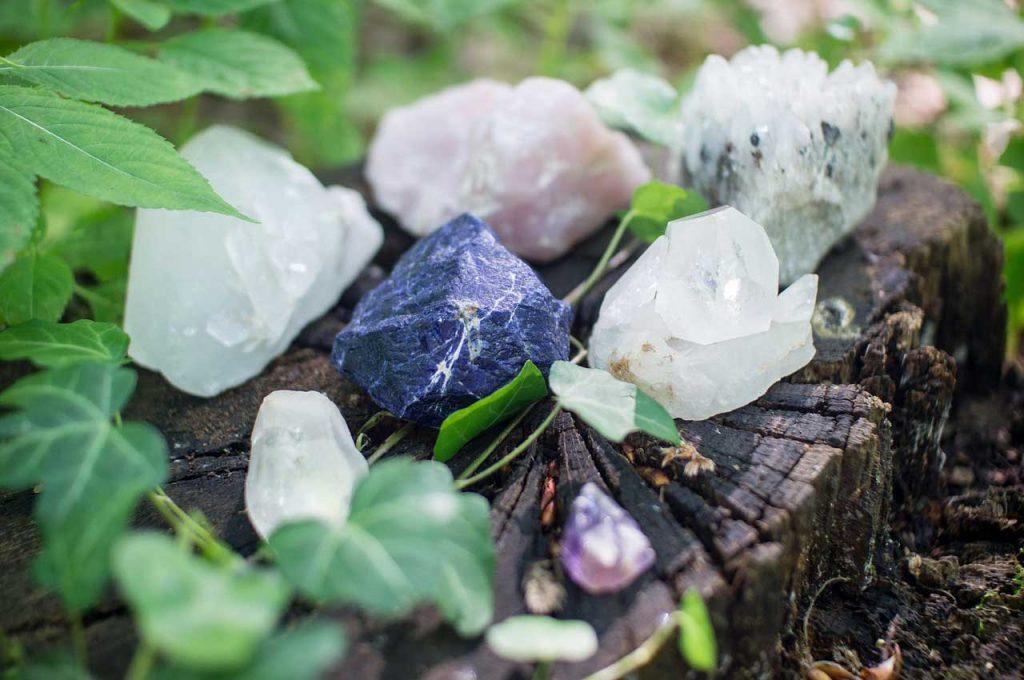 crystal healing, spiritual cleansing
