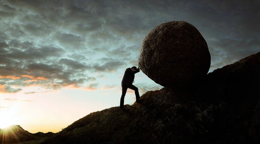 Harness the Power of Positivity - myth of sisyphus