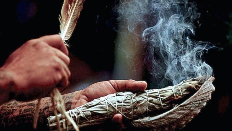 smudging, spiritual cleansing