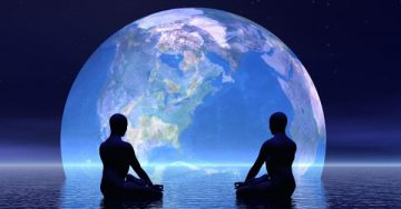 A two man set and watch the planet of earth