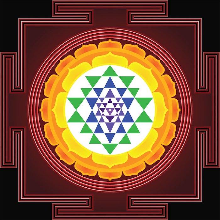 sri yantra, sacred shapes
